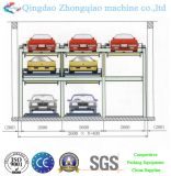 3 Layers Pit Type LiftingおよびTransferring Parking System