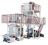 Máquina soplada película de la coextrusión de la Tres-Capa del ABA