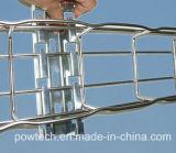 Корзина кабеля ячеистой сети нержавеющей стали (CE, UL, ISO)