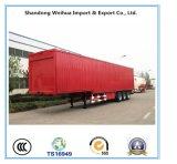 Acoplado de China 3 Axles Van Box Semi con nuevo precio de fábrica