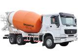 8CBM容量のSINOTRUCK HOWO 6x4 371hpのミキサーのトラック