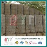 Mit Sand gefüllte Hesco Sperren galvanisierten Gabion Kasten/Hesco Sperren-Wand Mil 7