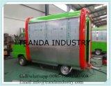 Fritada móvel ao ar livre prática Van da restauração com Ce