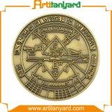 Moneta di sfida del metallo dell'oggetto d'antiquariato di disegno del cliente