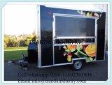 De Aanhangwagen van het voedsel en Koelere Vrachtwagen