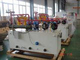 ペーパーマシンの中央給油システムオイル端末のペーパーマシンセクション
