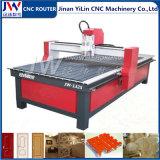 Máquina de cinzeladura de madeira do CNC para o relevo de madeira da porta da madeira compensada do MDF