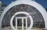 Stahlrahmen-Raum-Kugel-Form-Zelt-rundes Abdeckung-Zelt