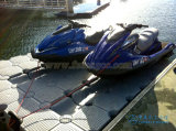 Muelle del esquí del jet del dique flotante el pontón