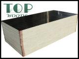 Brwon/madera contrachapada negra de la cara de la película con el pegamento de WBP para el material de construcción