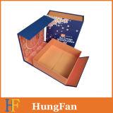 Коробка подарка магнитной бумаги крышки твердая/бумажная коробка/упаковывая бумажная коробка