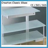 3-12mm Vidro Geado/ Vidro Decorativo de ISO9001 CE