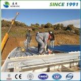 Stahlkonstruktion-Lager mit Stahlblech-Wand