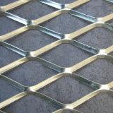 O eletro galvanizou a folha de metal/engranzamento expandidos