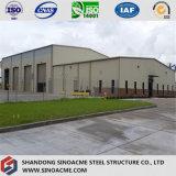 Здание стальной рамки для мастерской с пакгаузом