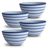 Una minestra da 6 pollici o ciotola di cereale di ceramica Handmade