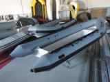 Barco inflable de la costilla de la pesca, barco militar de la costilla, barco de la costilla de Hypalon