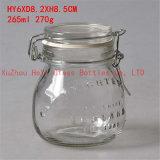 ガラス容器の食糧ガラス瓶のシール・ガラスの容器