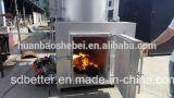De farmaceutische Verbrandingsoven van het Afval, de Kleine Verbrandingsoven van het Stevige Afval, Verbrandingsoven 10-500kgs
