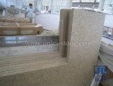 Prefab G682 Roestig Geel Graniet Worktop voor Keuken