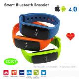 De Intelligente Slimme Armband van Bluetooth met Pedometer, de Monitor ID107 van de Slaap