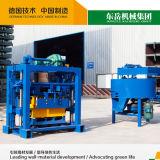 Bloco Qt40-2 manual que faz a máquina a máquina de molde simples do tijolo
