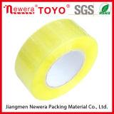 水の基づいた接着剤OPP透過黄色いテープレモンテープ