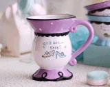 Tazza di caffè unica di ceramica a buon mercato lustrata della tazza di tè per il regalo