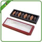 Diseño de empaquetado de la caja de la venta al por mayor/del brownie de la caja de Macaron/de la caja de los dulces