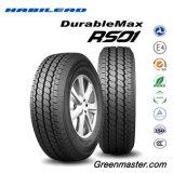 El coche de la polimerización en cadena de los neumáticos de automóvil pone un neumático Mnaufacturer