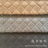 Tissus piquants de polyester de textile de maison de configuration de réseau de ficelle pour le sofa