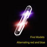 3 LEIDENE 120lumens van de Fiets van de Fiets van wijzen USB de Lichten van de Lichte Plastic Navulbare Achter Lichte Fiets van de Staart