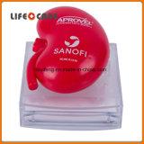 Sostenedor magnético en forma de corazón del clip de papel