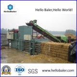 Presse automatique horizontale hydraulique de canne à sucre de paille de foin