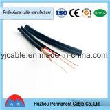 Kabel der Energien-RG6 + 2c für CATV CCTV-Koaxialkabel