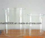 Cylindre de lampe en verre de Pyrex d'épreuve de chaleur (glace 08 d'éclairage de HH)
