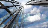 Стекло стены здания коммерчески и селитебного двойника занавеса 5+9A+5mm стеклянное с AS/NZS2208: 1996
