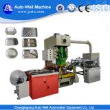 Contenedor de papel de aluminio que hace la máquina