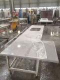 Couper pour classer des partie supérieure du comptoir de cuisine de salle de bains de partie supérieure du comptoir de quartz