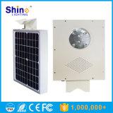 Da lâmpada Integrated do jardim do sensor de IP65 5W luzes de rua solares do diodo emissor de luz