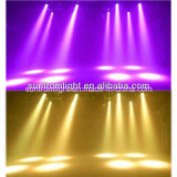 36PCS x LED 급상승 이동하는 맨 위 세척 빛6 에서 1 18W Rgbwauv