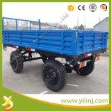 De Aanhangwagen van het Landbouwbedrijf van het Gebruik van de landbouw met de Lading 3tons van de Kipwagen van de Staart