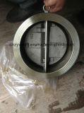 """14 """" 300lb API594 si raddoppiano valvola di ritenuta della cialda dell'acciaio di getto del piatto"""