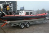 Aqualand 30feet 9m Rib Boat/Military Rescue Patrol/Rigid Inflatable Boat (RIB900B)