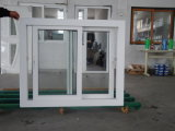 Окно PVC Eruopean стандартное сползая от китайского поставщика в Zhejiang, Китае