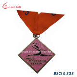 Sale chaud Customized Metal Medal avec Ribbon