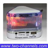 Altavoz cristalino del LED, mini rectángulo estéreo de sonidos del altavoz del USB TF FM