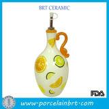 小さい陶磁器水ワインの装飾的で涼しい香水の再使用可能な飲み物のびん