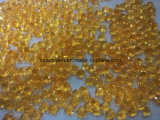 宝石類の設定のための熱水淡黄色の花火の凹面の切口の円形の石