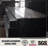 前に電流を通された正方形の鋼管の別の指定5.8mの長さ
